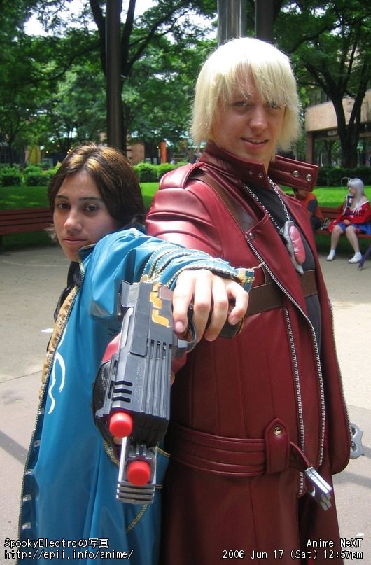 Picture: Devil May Cry 3 - Vergil and Dante