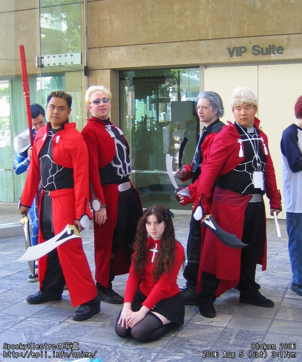 Picture: Fate Stay Night - Archer x4 and Tohsaka