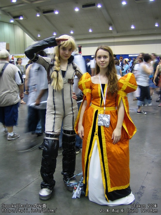 Picture: Last Exile - Alister and Sophia 1