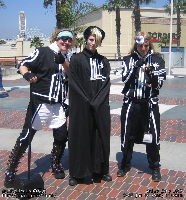 Picture: D.Gray-man - Lavi, Alister, and Allen