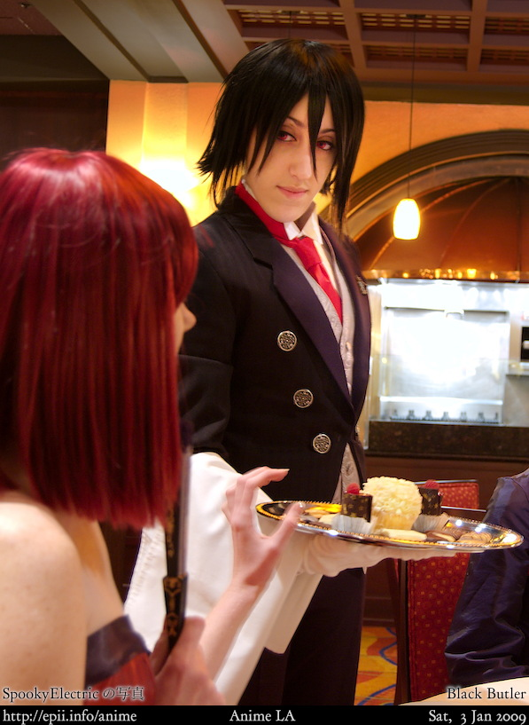 Picture: Black Butler - Madam Red and Sebastian
