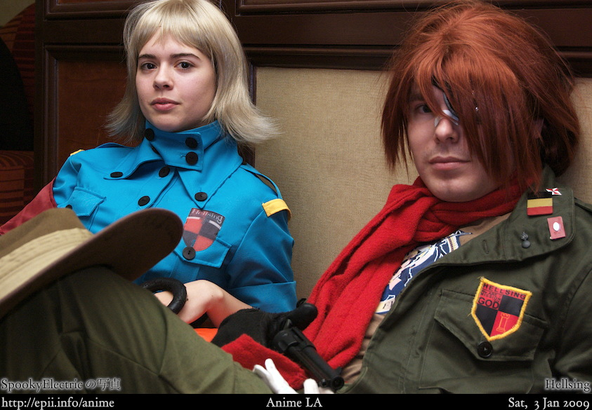 Picture: Hellsing - Seras and Pip