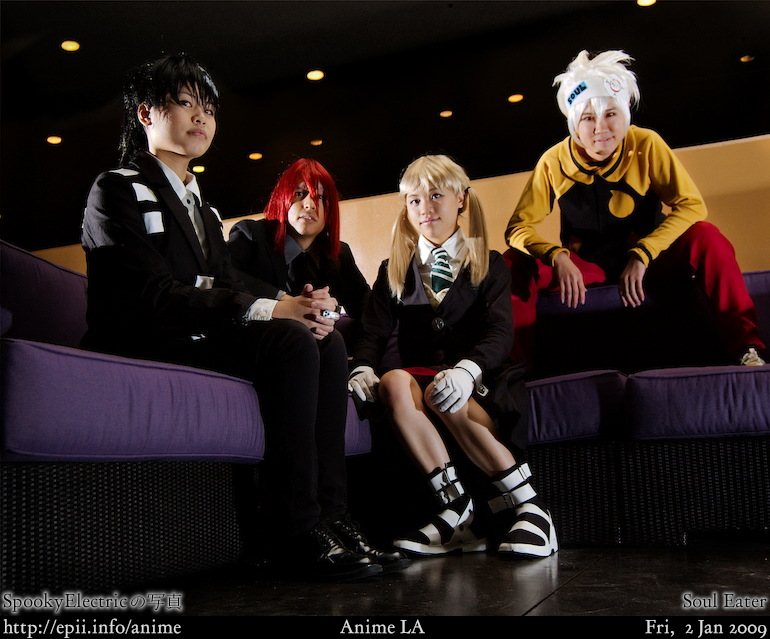 Picture: Soul Eater - Group