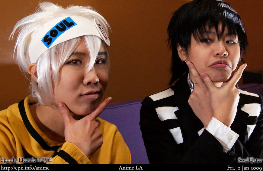 Picture: Soul Eater - Soul and DK