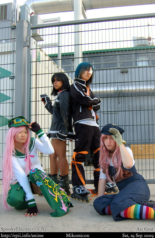 Picture: Air Gear - Group