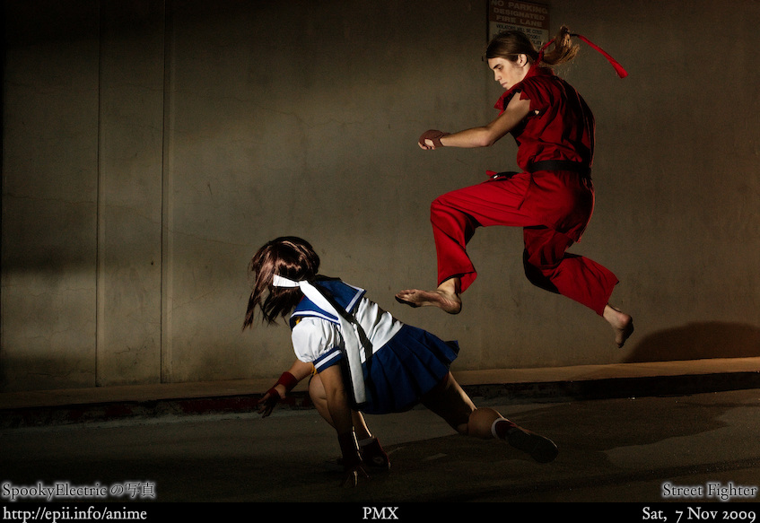 Picture: Street Fighter - Sakura vs Ken