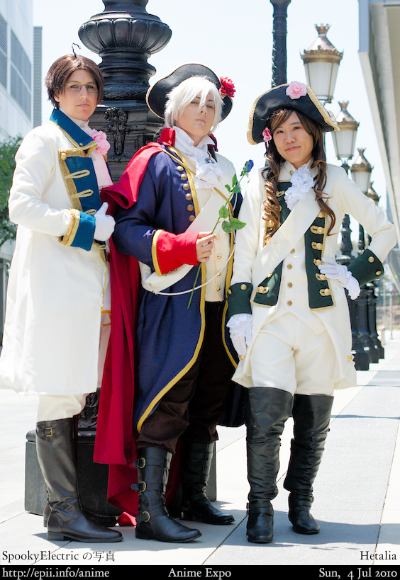 Picture: Hetalia - Austria, Prussia, and Hungary