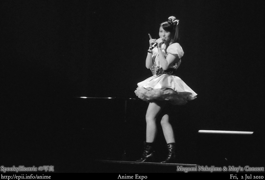Picture: Megumi Nakajima & May'n Concert