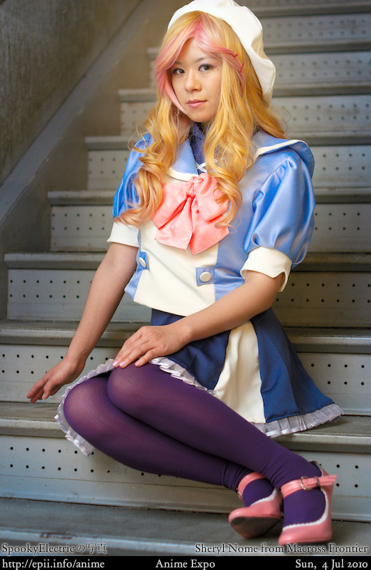 Cosplay  Picture: Macross Frontier - Sheryl Nome