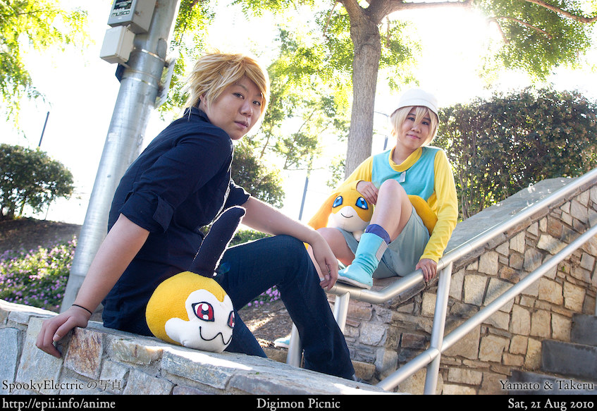 Picture: Digimon - Yamato and Takeru 1
