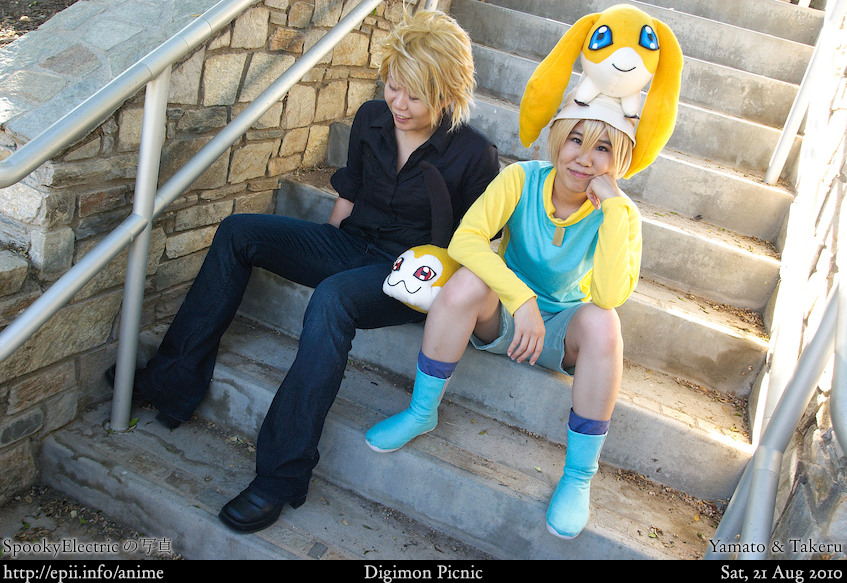Picture: Digimon - Yamato and Takeru 3