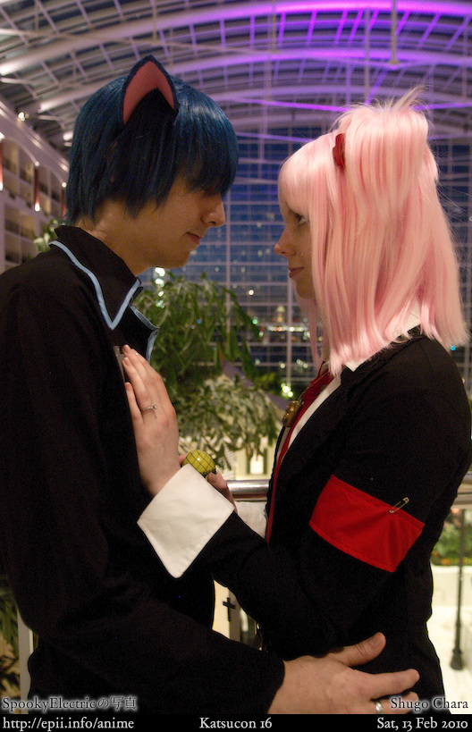 Picture: Shugo Chara - Ikuto and Amu