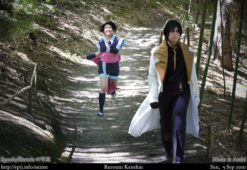 Picture: Kenshin - Misao and Aoshi 10
