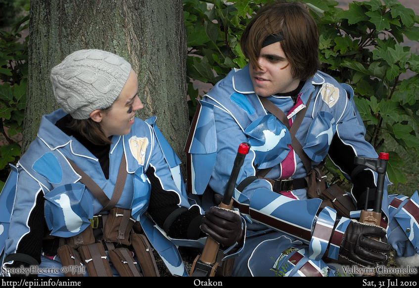 Picture: Valkyria Chronicles - Wendy and Vyse 1