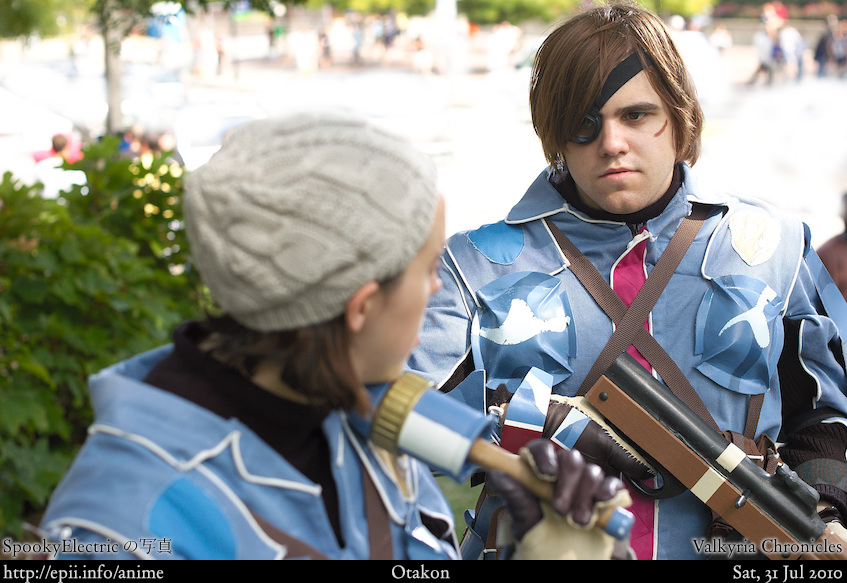 Picture: Valkyria Chronicles - Wendy and Vyse 3