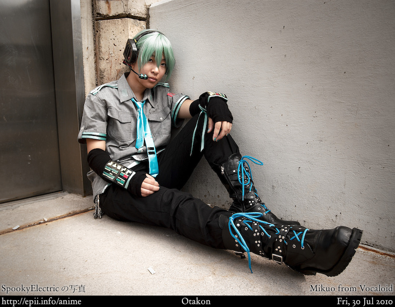 Picture: Vocaloid - Mikuo 2