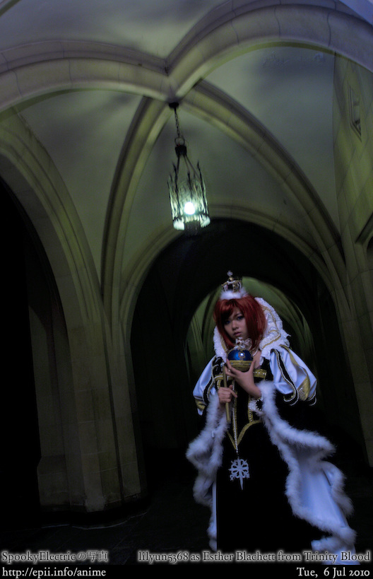 Picture: Trinity Blood - Esther Blachett 1