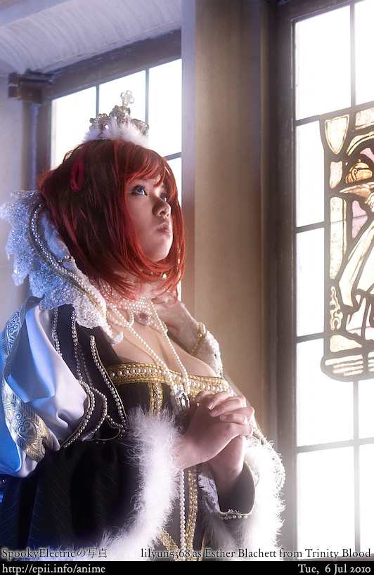Picture: Trinity Blood - Esther Blachett 6