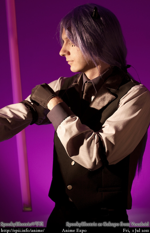 Cosplay  Picture: Vocaloid - Gakupo (Poker Face) 2