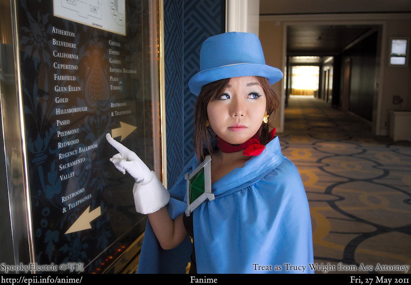 Cosplay  Picture: Ace Attorney - Trucy Wright 14