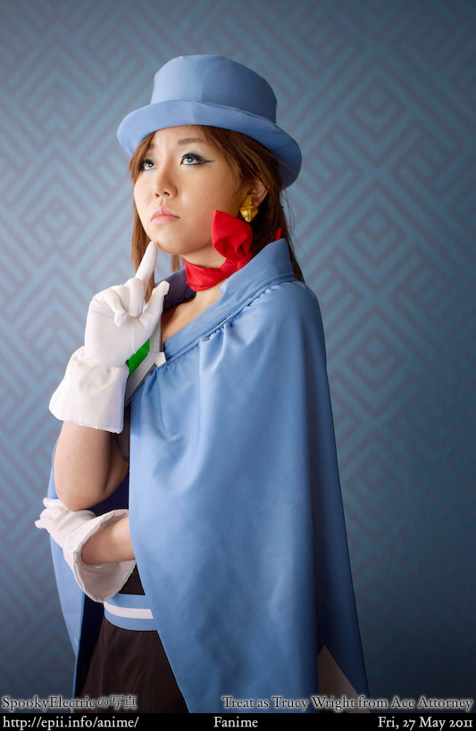 Cosplay  Picture: Ace Attorney - Trucy Wright 2
