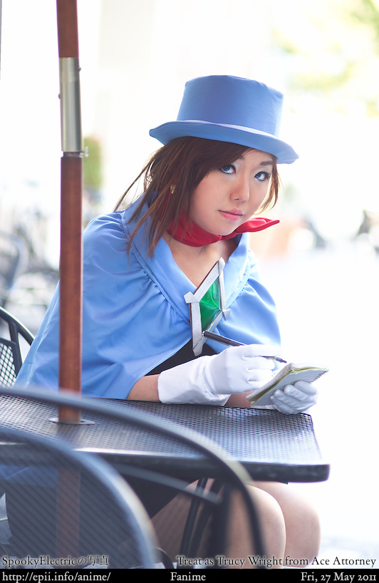 Cosplay  Picture: Ace Attorney - Trucy Wright 4