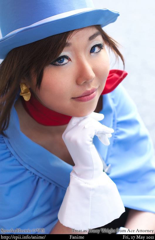 Cosplay  Picture: Ace Attorney - Trucy Wright 5