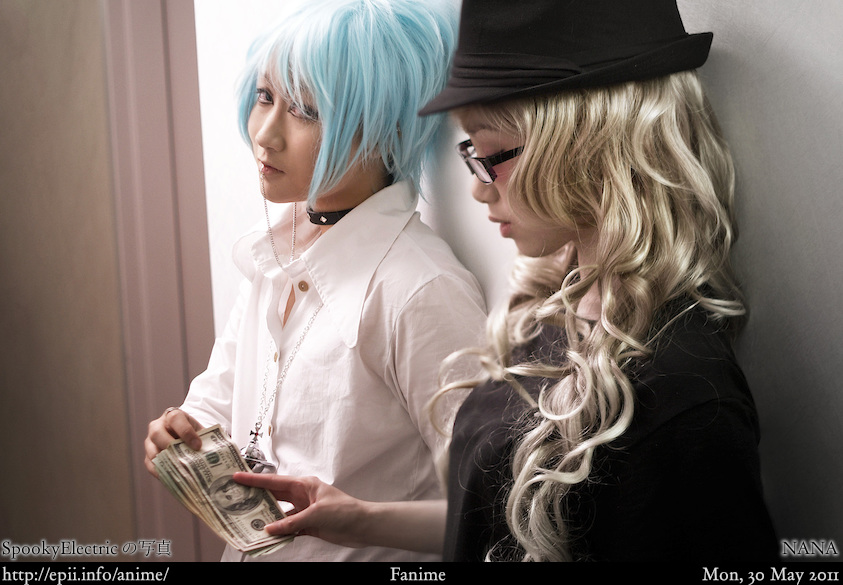 Cosplay  Picture: NANA - Shin and Reira 1