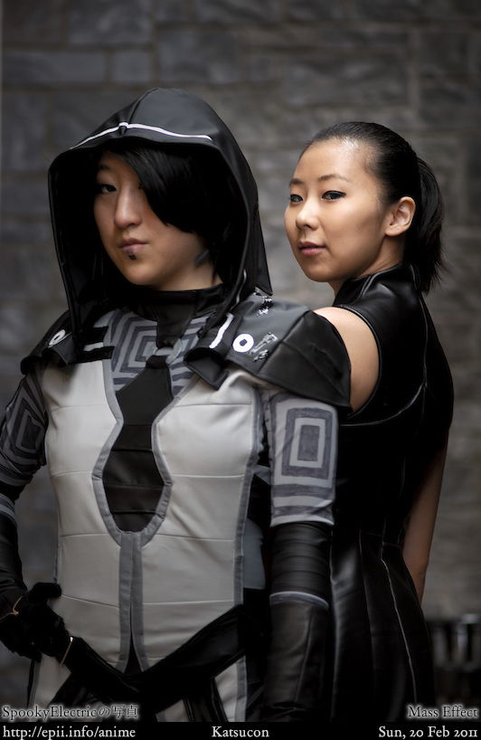 Cosplay  Picture: Mass Effect - Kasumi and Shepard