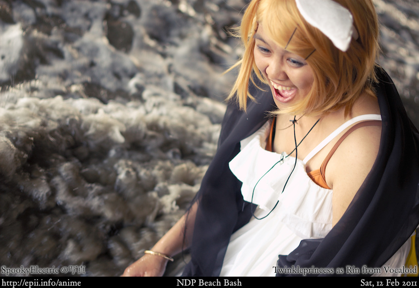 Cosplay  Picture: Vocaloid - Rin (Synchronicity) 4