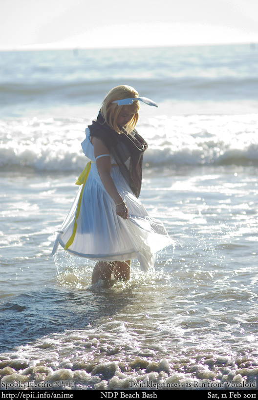 Cosplay  Picture: Vocaloid - Rin (Synchronicity) 5