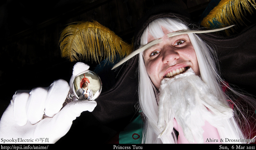 Cosplay  Picture: Princess Tutu - Ahiru and Drosselmeyer