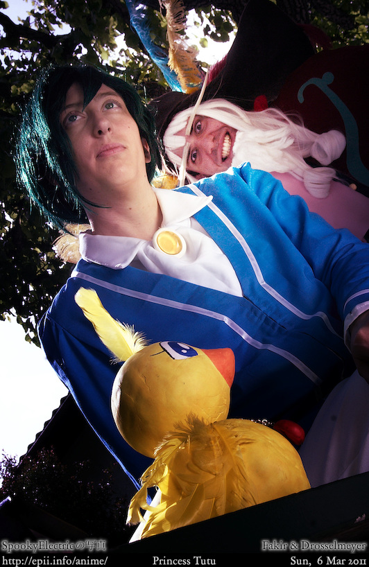 Cosplay  Picture: Princess Tutu - Fakir and Drosselmeyer