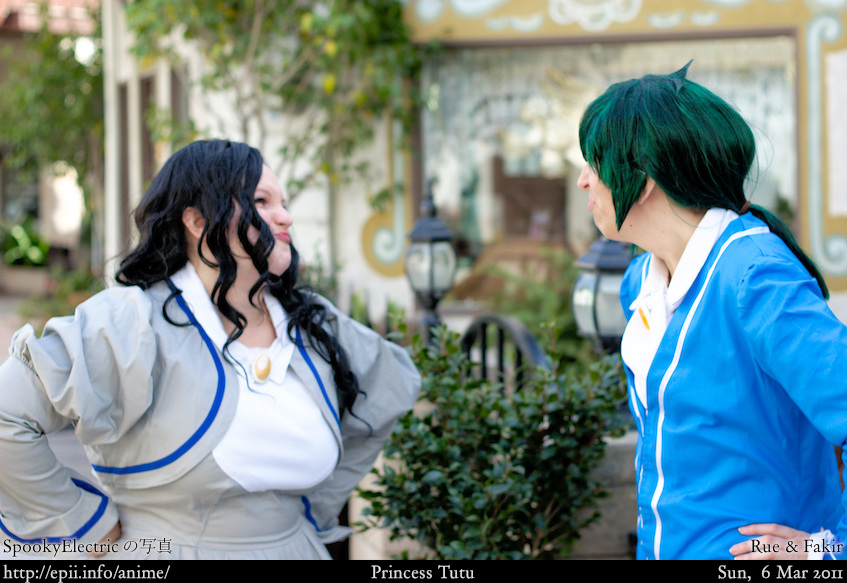 Cosplay  Picture: Princess Tutu - Rue and Fakir