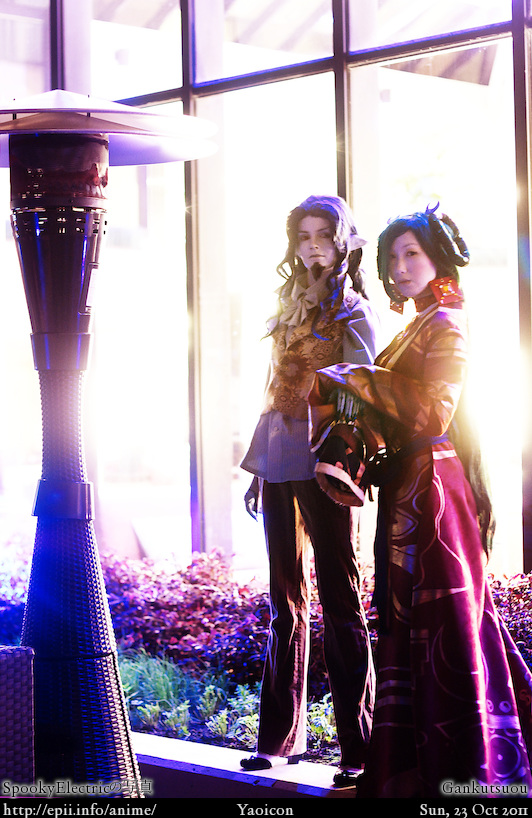 Cosplay  Picture: Gankutsuou - The Count and Haydee 7678