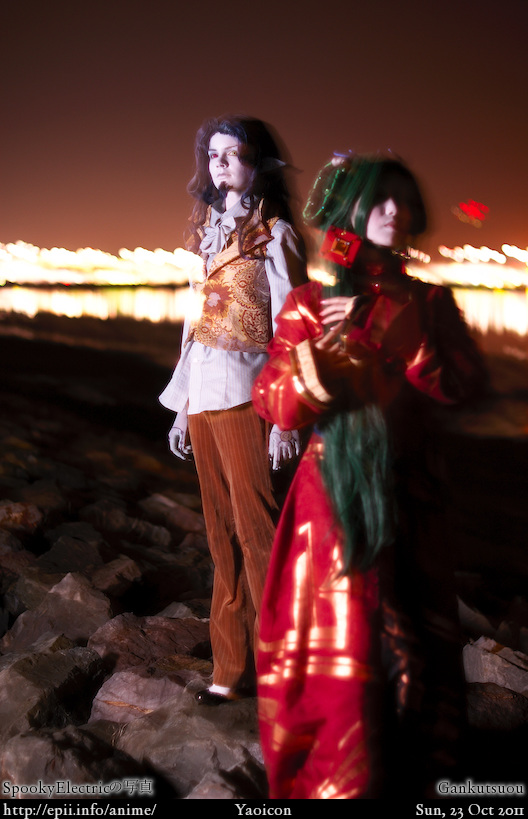 Cosplay  Picture: Gankutsuou - The Count and Haydee 7716
