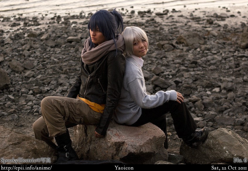 Cosplay  Picture: No. 6 - Nezumi and Shion 7492