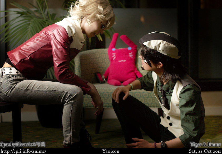 Cosplay  Picture: Tiger and Bunny - Barnaby and Kotetsu 6907