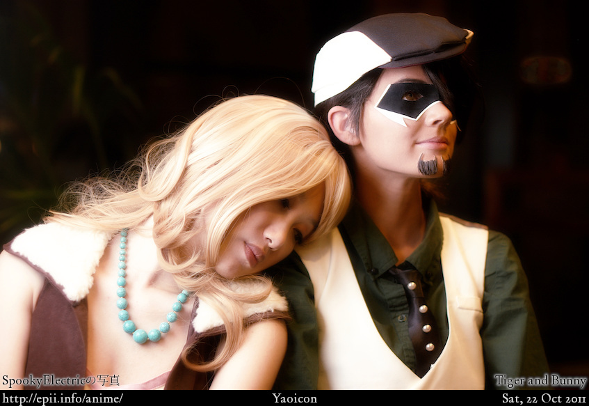 Cosplay  Picture: Tiger and Bunny - Karina and Kotetsu 6835