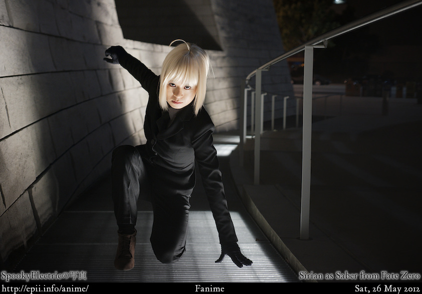 Cosplay  Picture: Fate Zero - Saber 0636