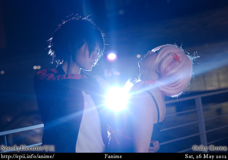 Cosplay  Picture: Guilty Crown - Shu and Inori 0686