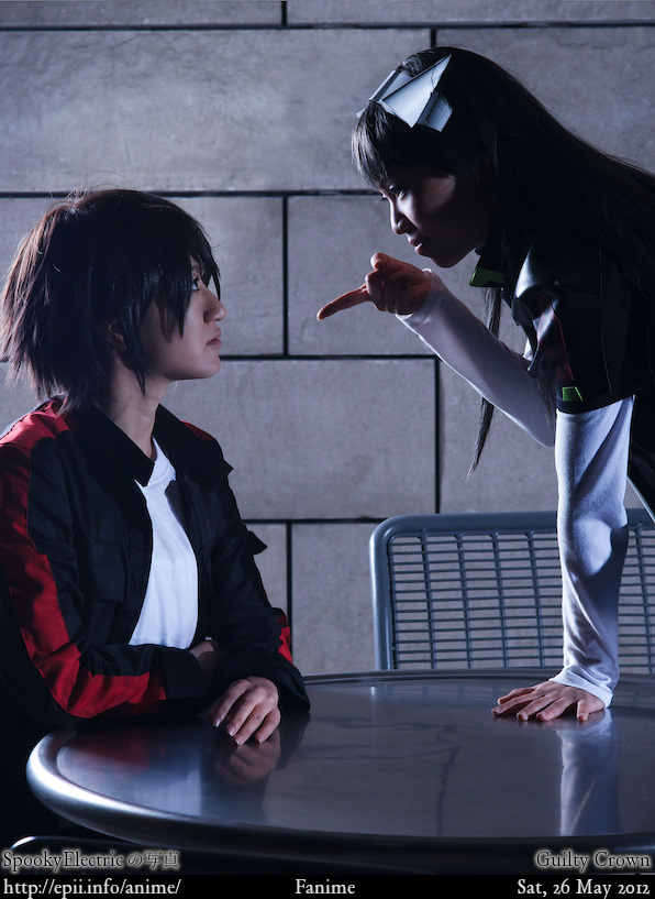 Cosplay  Picture: Guilty Crown - Shu and Tsugumi 0693