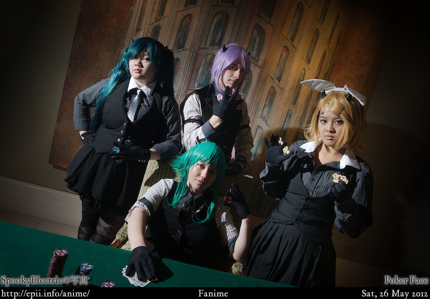 Cosplay  Picture: Poker Face - Group 0809