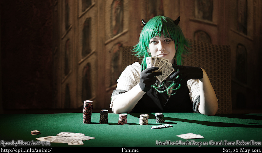 Cosplay  Picture: Poker Face - Gumi 0777