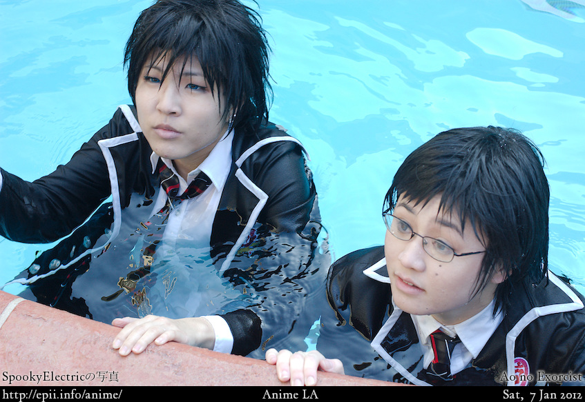 Cosplay  Picture: Ao no Exorcist - Rin and Yukio 0017