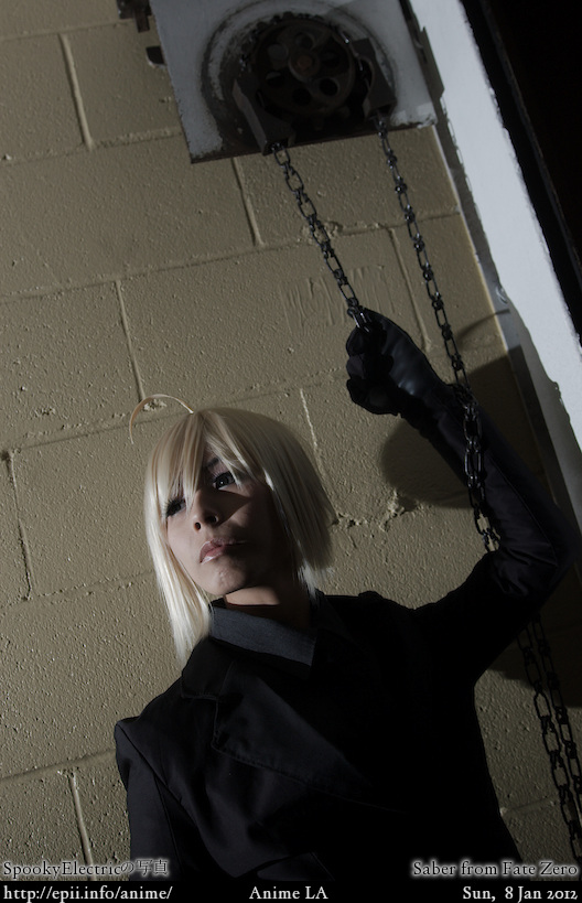 Cosplay  Picture: Fate Zero - Saber 0401