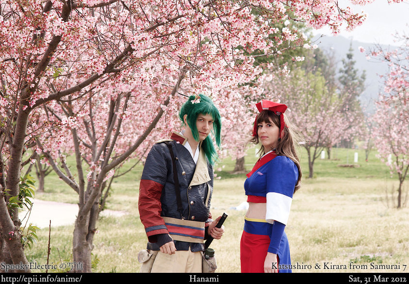 Cosplay  Picture: Samurai 7 - Katsushiro and Kirara 3053