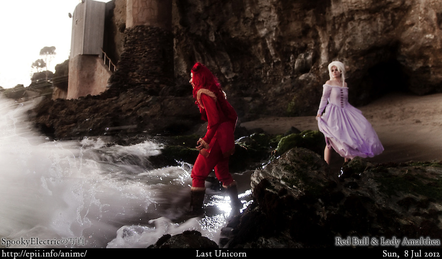 Cosplay  Picture: Last Unicorn - Red Bull and Lady Amalthea 4416