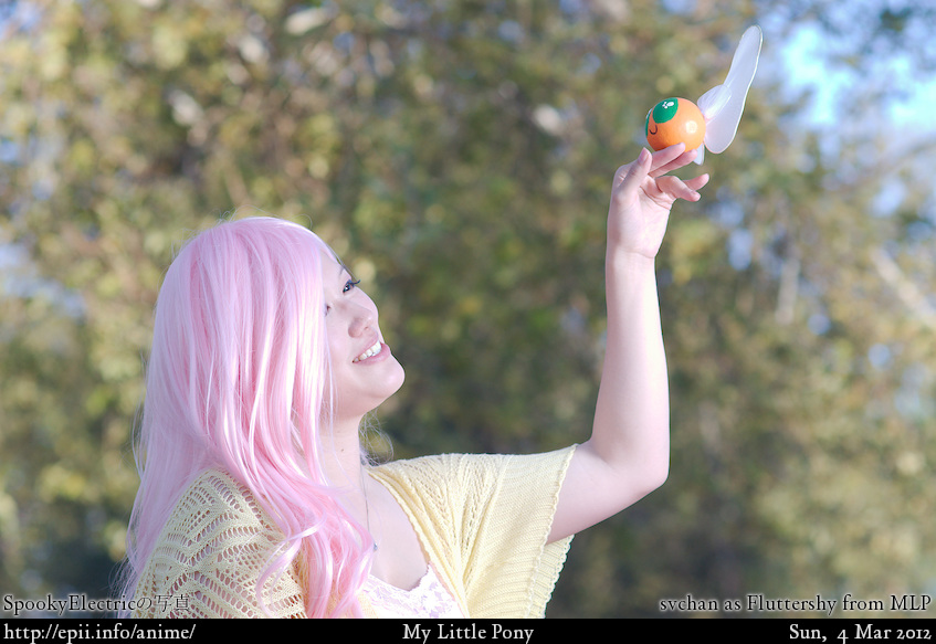 Cosplay  Picture: MLP - Fluttershy 2927
