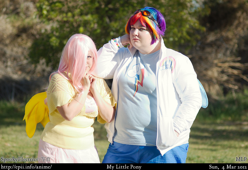 Cosplay  Picture: MLP - Fluttershy and Rainbow Dash 2870
